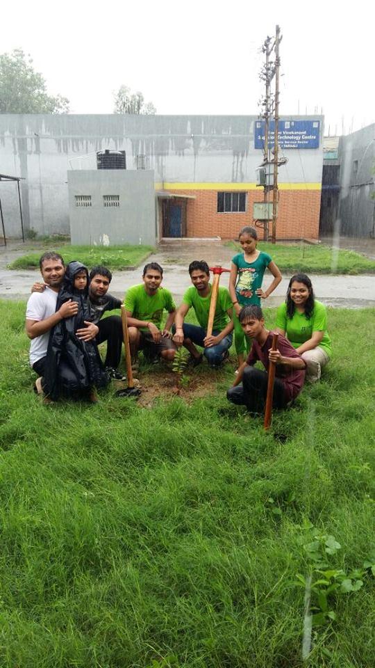 Tree Plantation @ Makarpura, Vadodara